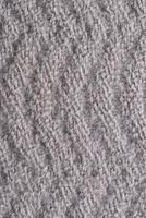 texture tricotée grise photo