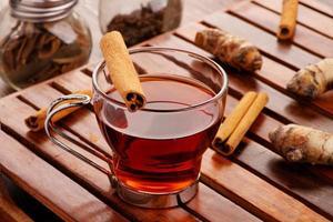 thé détox à la cannelle et au curcuma photo