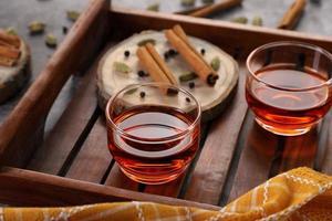 thé détox à la cannelle photo