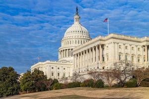le bâtiment du Capitole des États-Unis. Washington DC, États-Unis. photo