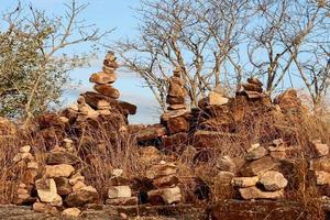 équilibrage des roches conception de la nature photo