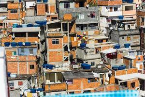 Vue depuis le sommet de la colline de Cantagalo à Ipanema, Rio de Janeiro photo