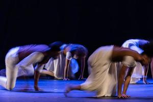 le mouvement abstrait de la danse photo