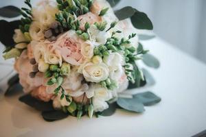 beau bouquet de mariage photo