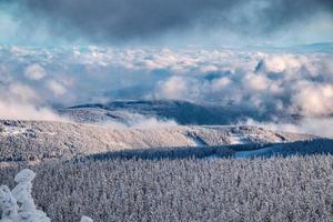 Krkonose Mountains en République tchèque photo
