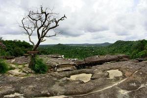 Pha Luang cascade forest park amphoe si mueang mai ubon ratchathani thailande photo