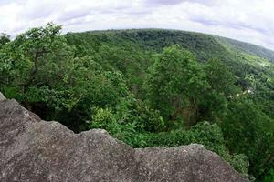 Pha Luang Waterfall Forest Park, Amphoe Si Mueang Mai, Ubon Ratchathani, Thaïlande photo