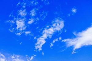 fond de ciel et nuages photo