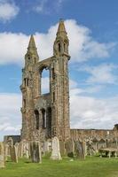 Cathédrale Saint Andrews à Saint Andrews en Écosse photo