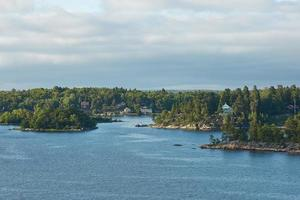 beau jour dans l'archipel de stockholm photo
