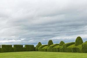 Château de Chirk et son jardin au Pays de Galles en Angleterre photo