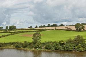 Campagne dans le nord du Pays de Galles england uk photo