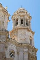 Détail de la cathédrale de cadix espagne photo