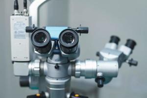 équipement d'optométriste médical utilisé pour les examens de la vue photo