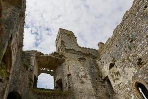 Château de Carew dans le Pembrokeshire Wales England uk photo