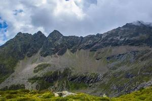 sommets alpins du tyrol du sud photo
