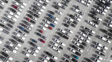 concept de transport en stationnement fond de véhicules photo