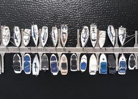 concept de transport avec fond de navires photo