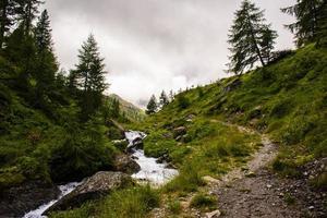 ruisseaux sur les alpes du tyrol du sud sept photo