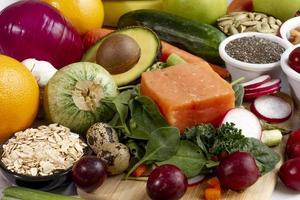 la composition alimentaire du régime flexitarien facile photo