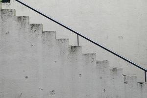 L'architecture des escaliers dans la ville de Bilbao Espagne photo