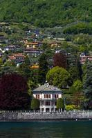 Province de Côme, Italie, 2021 - ville sur le lac de Côme photo