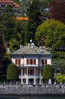 Province de Côme, Italie, 2021 - vue de la ville de mezzegra photo