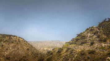paysage à couper le souffle avec des montagnes photo