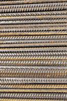 la texture de surface métallique rugueuse photo