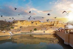 Amer Fort à Jaipur Rajasthan Inde photo