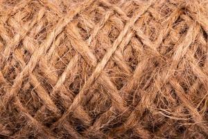 texture abstraite de corde torsadée photo