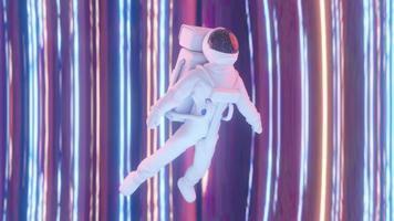 astronaute espace 3d trébucher photo