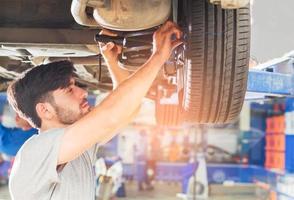 centre de service de réparation automobile standard photo