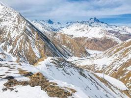 chaîne de montagnes du Caucase photo
