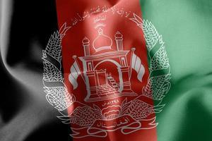 3d illustration de l'Afghanistan photo
