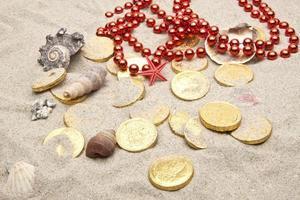 trésors marins se bouchent photo