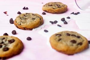 cookie aux pépites de chocolat photo