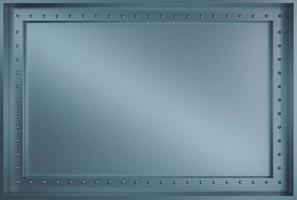 Texture de l'armure murale en métal industriel et rivets photo