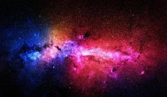 étoiles colorées et fond de l'espace, éléments de cette image fournis par la nasa photo