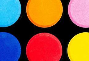 six palette de couleurs photo