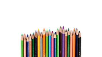 vieux crayons de couleur photo