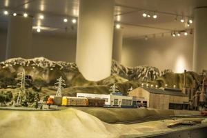 Chicago, Illinois 2017- miniatures au musée des sciences et de l'industrie photo