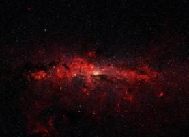 un chaudron d'étoiles au centre de la galaxie, éléments de cette image fournis par la nasa photo