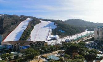 station de ski du parc vivaldi photo