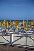 plage sicilienne en italie photo