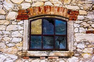 fenêtre de grange vintage photo