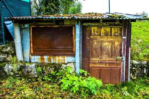 cabane en métal zéro photo