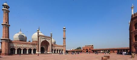 mosquée jama masjid new delhi inde photo