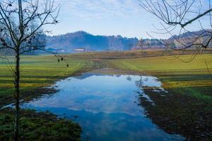 champs à l'extérieur de vicenza quatre photo