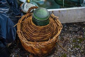 vieille fiole abandonnée photo